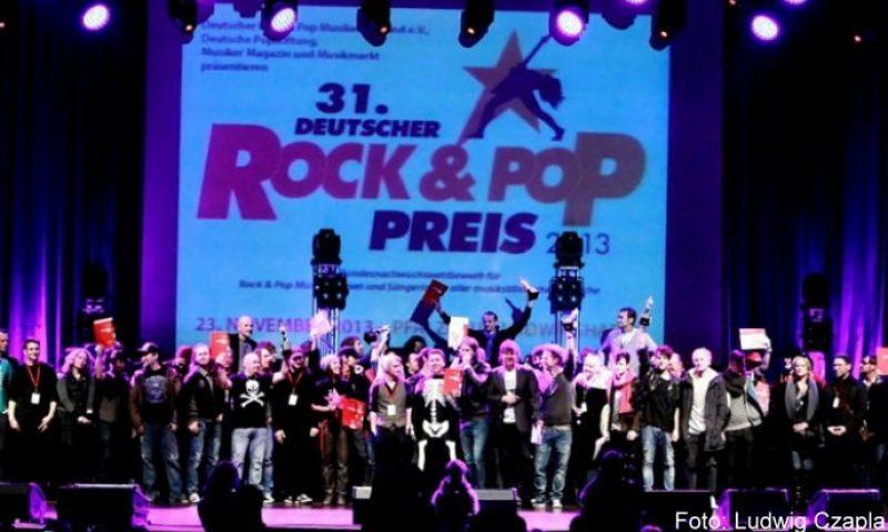 Gewinner des Rock & Pop Preises 2013