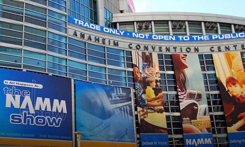 Join us for the next NAMM Show from January 24 to 27, 2019