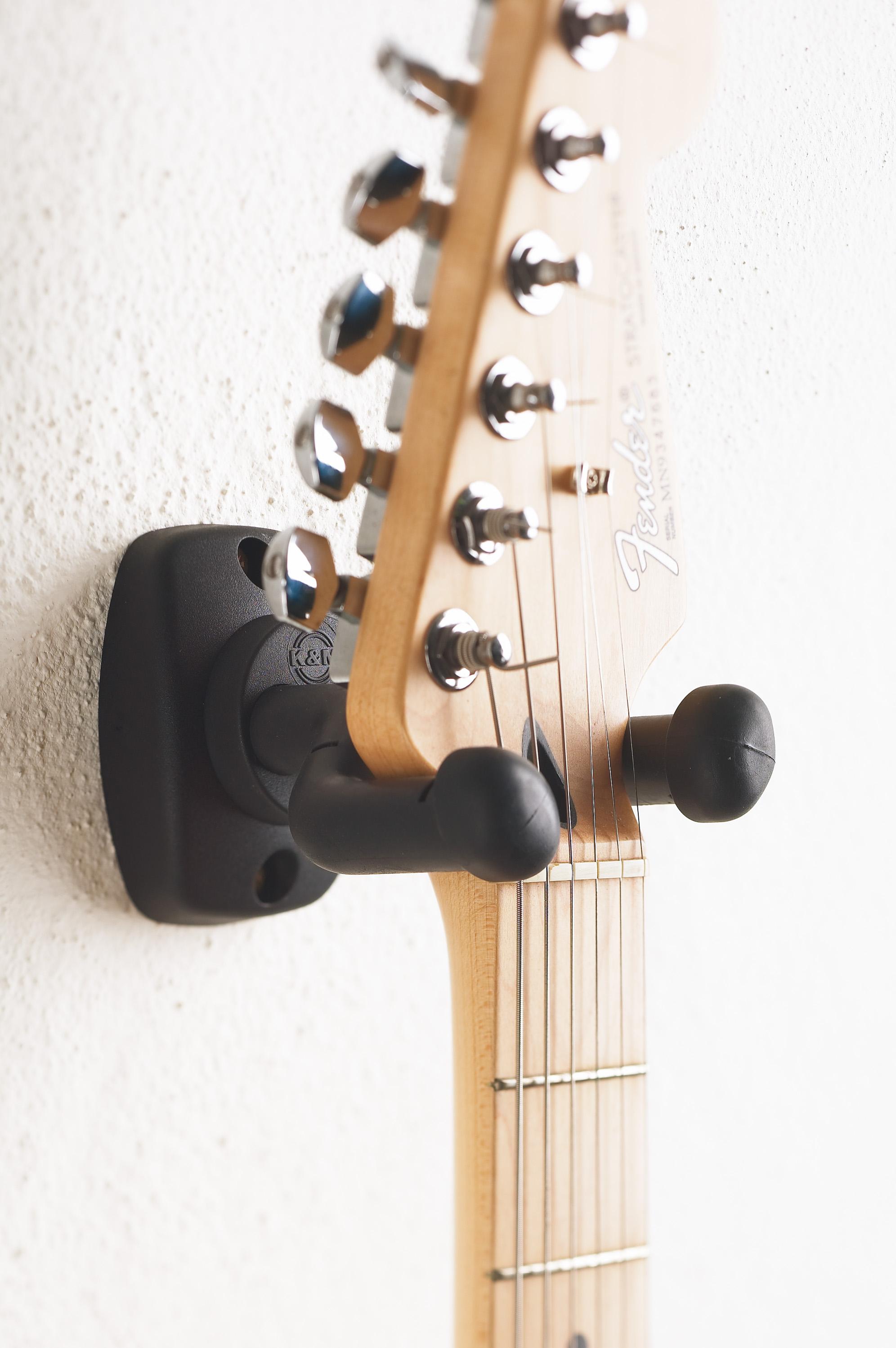 König und Meyer K/&M 16280 Gitarrenwandhalter kork Holder Wand Halter Gitarre