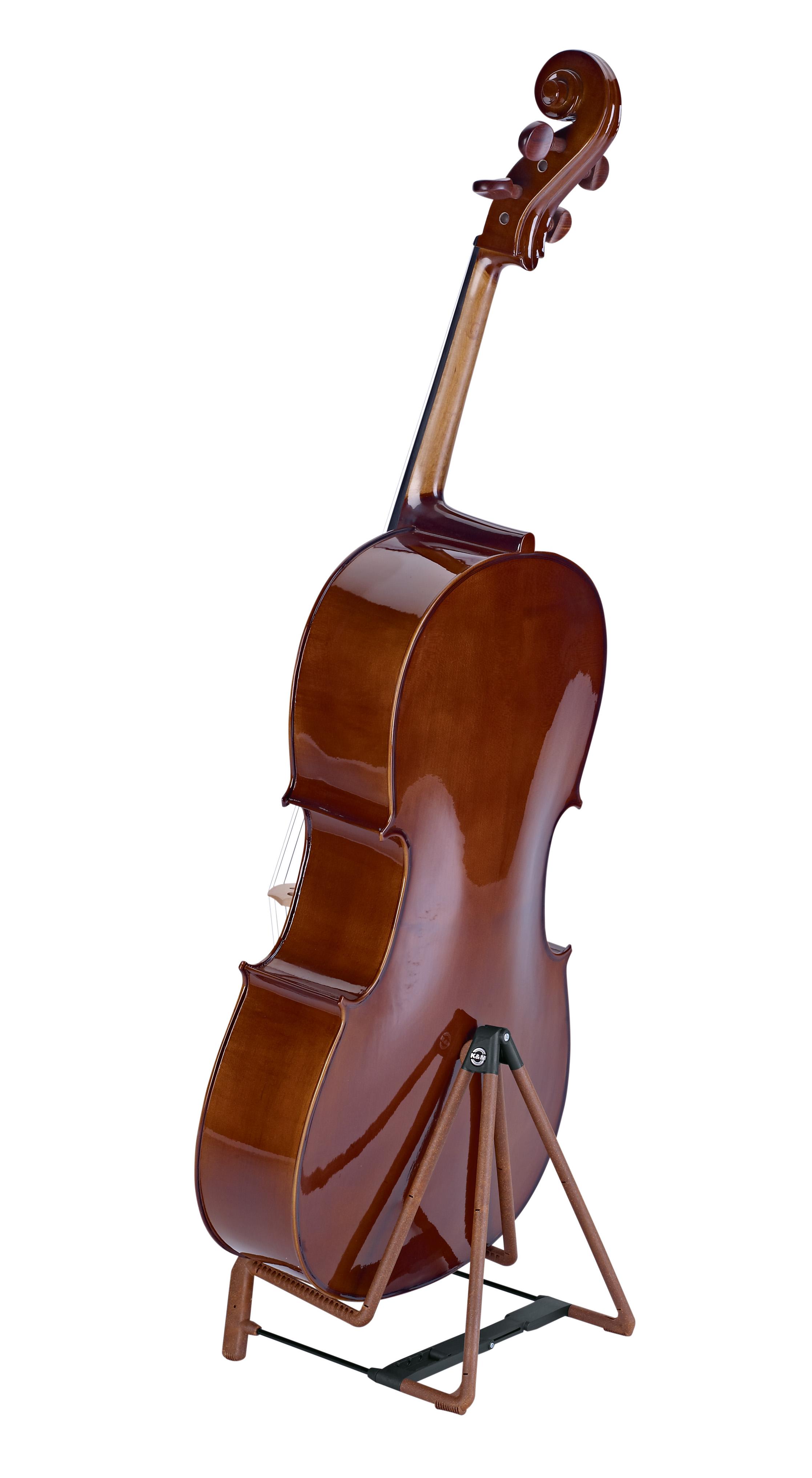 """E-Bass K/&M 17581 Gitarrenständer /""""Heli 2/"""" schwarz für E-Gitarre"""
