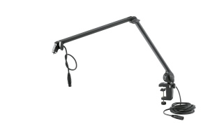 Microphone desk arm