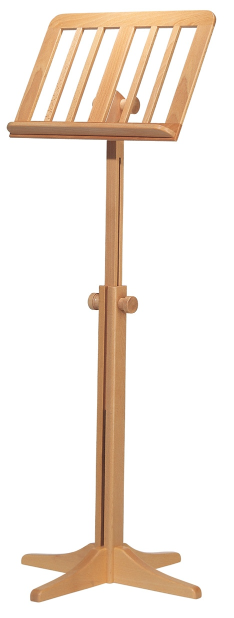Wooden music stand