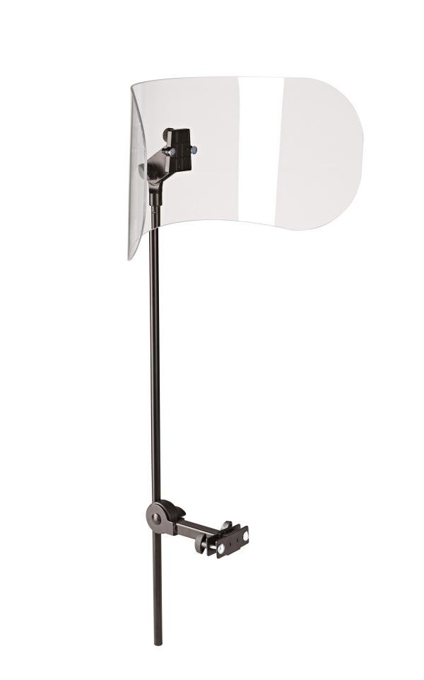 Schallschutzelement für Orchesterstühle mit Rückenlehne