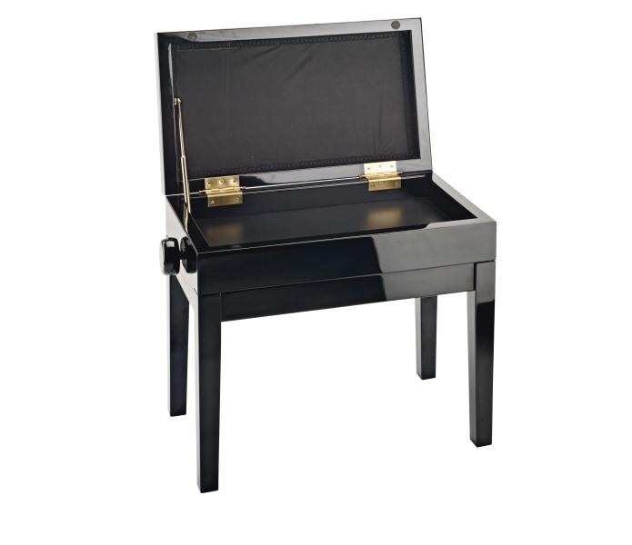 Klavierbank mit Notenfach