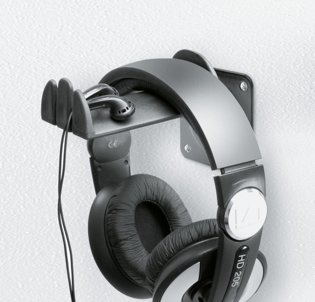 Headphone wall holder