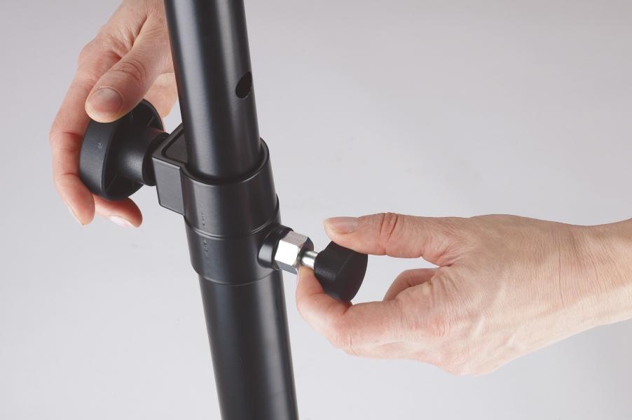 Distanzrohr mit Gasdruckfeder