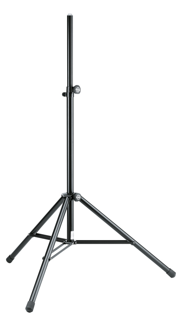 Speaker stand with pneumatic spring