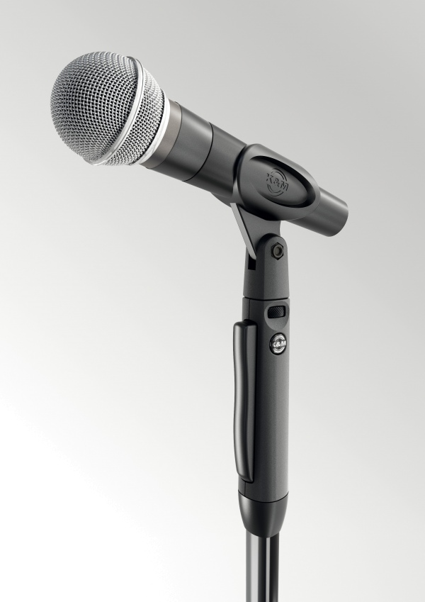 One-hand microphone stand »Elegance«